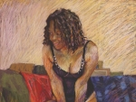 PC1 Pastel on Ingres paper 703x460mm